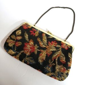 Stylemark by Mutterpearl Vintage tapestry clutch